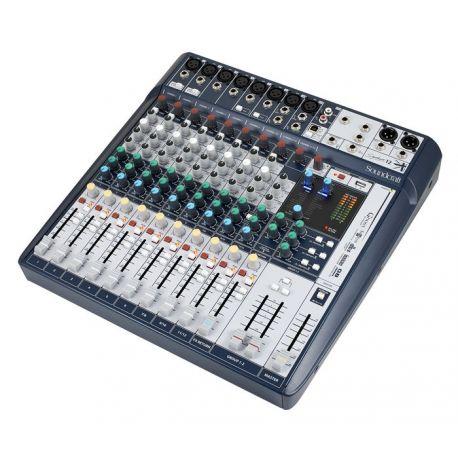 Soundcraft Signature 12 mesa de mezclas analógica