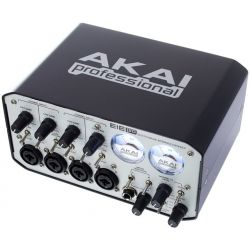 INTERFACE AKAI AUDIO 4 X 4 IN / OUT 3 X USB MIDI VUMETER CLASICO