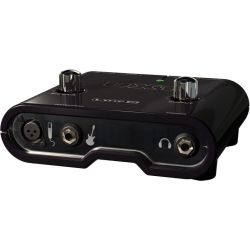 INTERFACE GUITARRA BAJO GRABACION 1 IN MIC +1 IN LINE