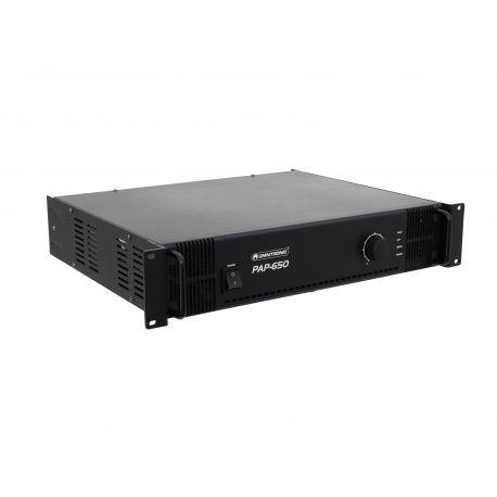 Omnitronic PAP-650 etapa de potencia profesional