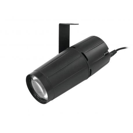FOCO EUROLITE LED PIN SPOT 4W QCL CON 10 PROGRAMAS RGB