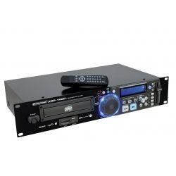 LECTOR CD OMNITRONIC USB TARJETA SD PITCH CONTROL +MANDO