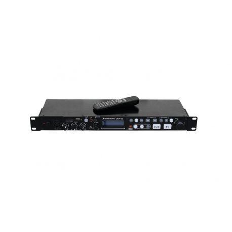 LECTOR OMNITRONIC USB TARJETA +1 MIC +PITCH CONTROL+MANDO