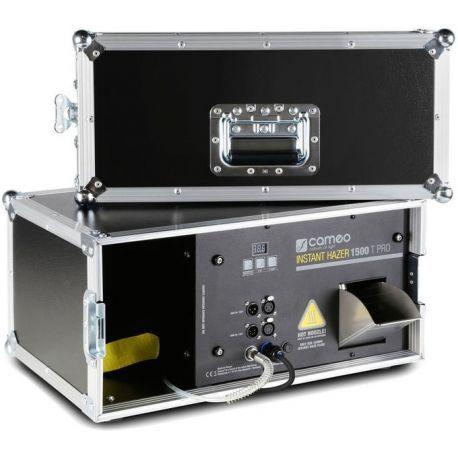 Cameo Instant Hazer 1500 T Pro máquina de humo portátil inalámbrica de 1500W