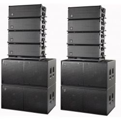 DAS AUDIO EVENT210A MÁS EVENT218A SISTEMA AUTOAMPLIFICADO LINE ARRAY