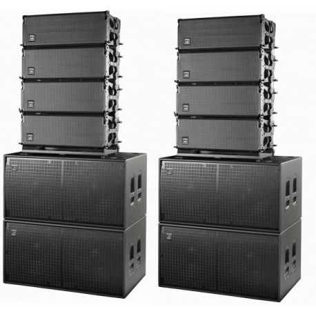 Sistema Autoamplificado Line Array Das Event Estacado