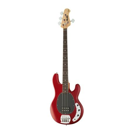 Sterling by Music Man SUB Ray 4 trans red satin
