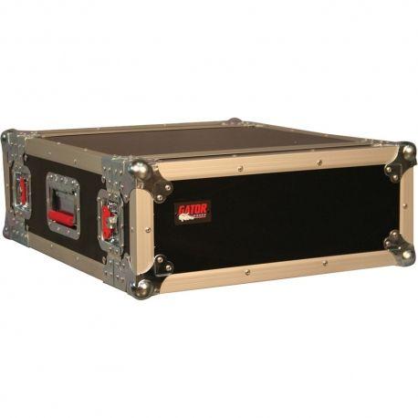 RACK GATOR CASE 4U D/T MADERA
