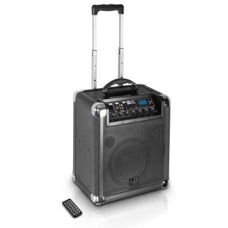 LD Systems RoadJack 10 altavoz portátil inalámbrico con Bluetooth, Usb y batería
