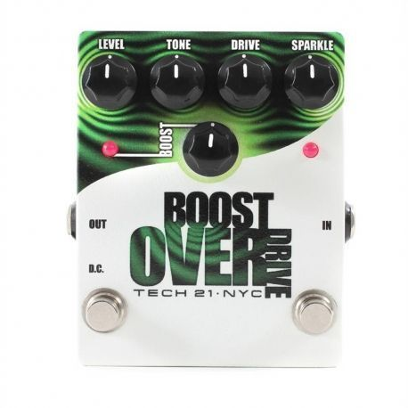 PEDAL TECH 21 BOOST OVERDRIVE