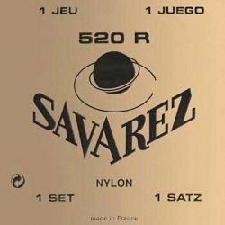 JUEGO CUERDAS SAVAREZ CARTA ROJA 520R