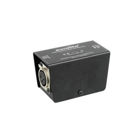 INTERFACE EUROLITE DMX 512 USB 2.0 XLR 3 PINS