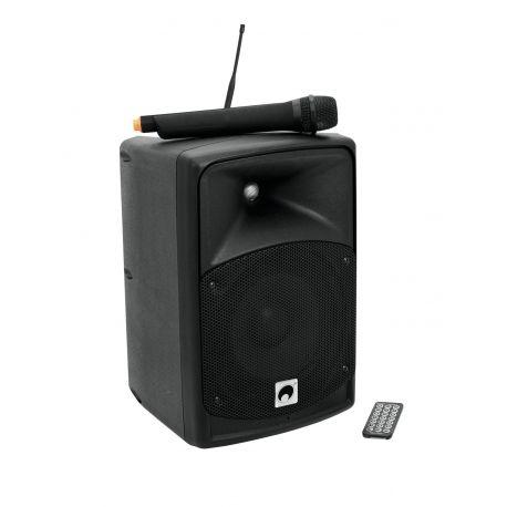 Ominitronic WAMS-08BT altavoz portátil inalámbrico Bluetooth y Usb