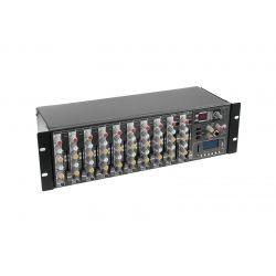 MESA OMNITRONIC 8 MIC+ 2LINE ST +EFECTO + 2 AUX + USB 3U RACK