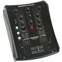 MEZCLADOR AMER.DJ 2PHO,2LINE,1MIC, USB