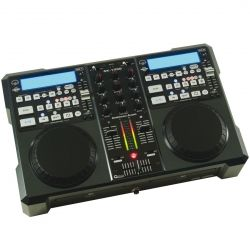 LECTOR CD AMER.DJ DOBLE+MIXER MP3
