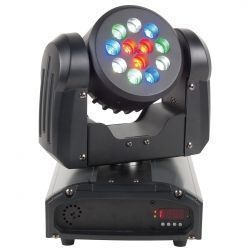 ADJ INNO COLOR BEAM 12 CABEZA MOVIL WASH LED CREE 36W DMX