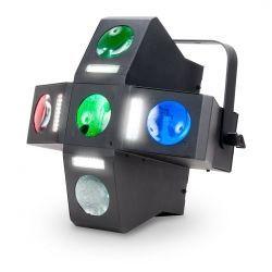 EFECTO ILUMIN AMER.DJ MOONFLOWER+FLASH 25X1W RGBW LED