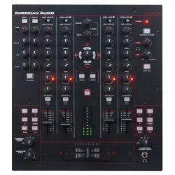 MEZCLADOR AMER.DJ 2PHO+4LINE+2MIC+USB PC