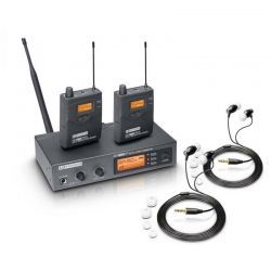 LD Systems MEI 1000 G2 BUNDLE sistema de monitor in ear inalámbrico de doble petaca