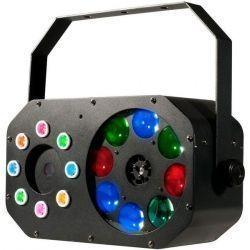 EFECTO ILUMIN AMER DJ WASH LED RGBW STROBO