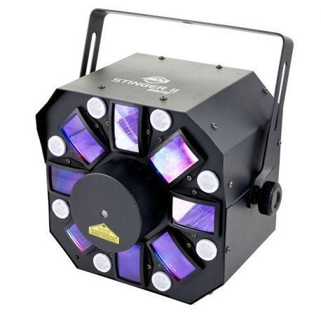 EFECTO ILUMIN AMER DJ MOONFLOWER 6 X 5 W RGBWAP DMX