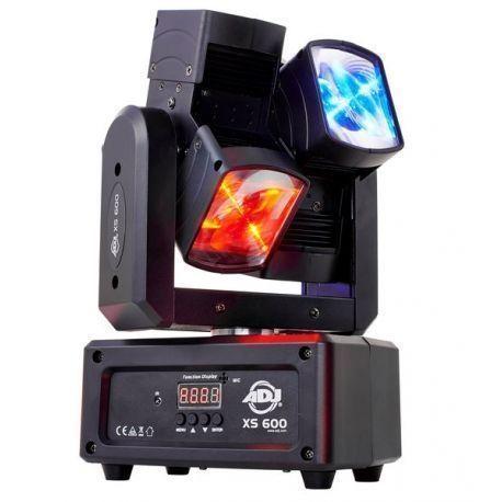 ADJ XS600 CABEZA MOVIL LED 6 X10 WAT RGBW DMX 360º