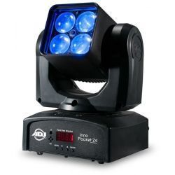 MOVIL AMER DJ LED 4 X 10 WAT QUAD RGBW DMX ZOOM