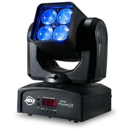 MOVIL AMER DJ LED 4 X 10 WAT QUAD RGBW DMX ZOOM