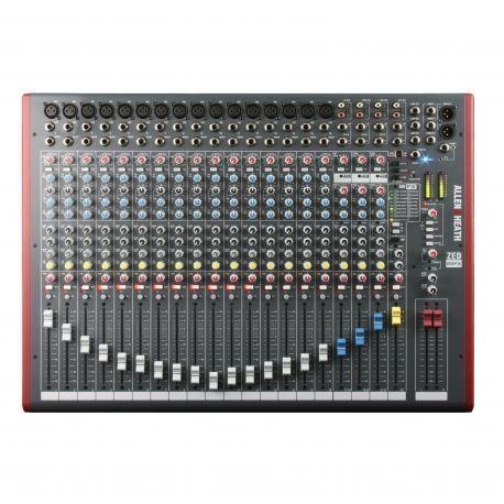 Allen & Heath ZED-22FX mesa de mezclas analógica