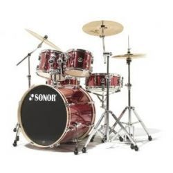 BATERIA F1007 STUDIO 1 SMOOTH RED