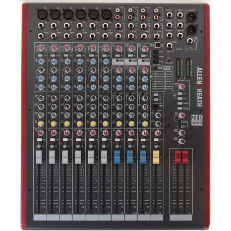 Allen & Heath ZED-12FX mesa de mezclas analógica
