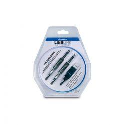 Alexis- Linelink CABLE ADAPTADOR USB A 2 JACK 2MT