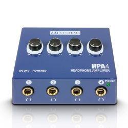 Ld Systems HPA 4 amplificador de auriculares de 4 canales