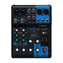 Yamaha MG06X mesa de mezclas analógica