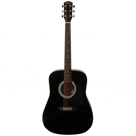 Fender Squier SA-105 BK guitarra acustica