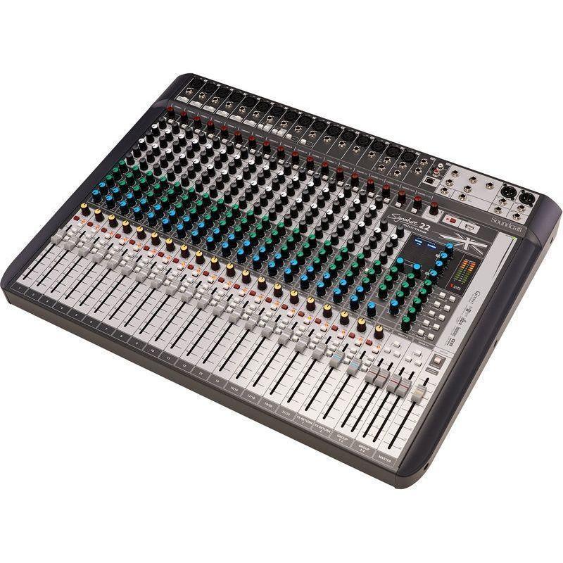 Soundcraft signature 22 mtk mesa de mezclas anal gica for Mesa de mezclas fonestar