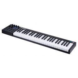 TECLADO CONTROLADOR USB MIDI 49 TECLAS Y 8 PADS