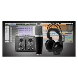 M-audio vocal studio pro pack de micrófono condensador, auriculares e interfaz