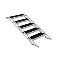 Everdeck VAS-5 ESCALERA CINCO PASOS 80-140 AJUSTABLE PARA TARIMA