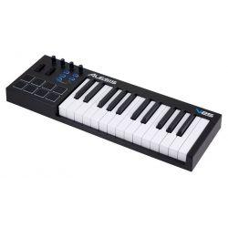 TECLADO CONTROLADOR USB MIDI 25 TECLAS 8 PADS