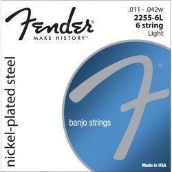 FENDER JUEGO CUERDAS BANJO 6 CUERDAS LIGHT NPS 11 - 42
