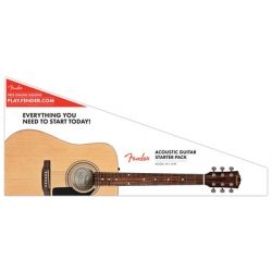 FENDER FA-115 GUITARRA ACUSTICA PACK NATURAL