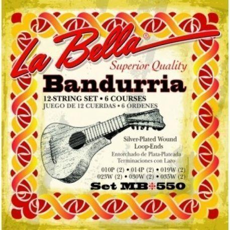 JUEGO CUERDA LA BELLA BANDURRIA SET MB550