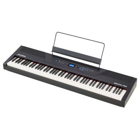 ALESIS RECITAL PRO PIANO DIGITAL 88 TECLAS 12 SONIDOS USB METRONOMO