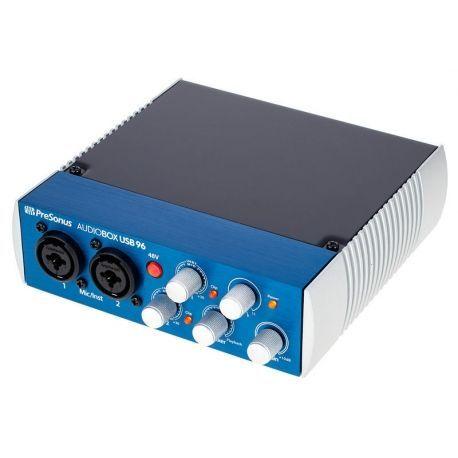 PRESONUS AUDIOBOX INTERFACE 2 X2 USB 96 KHZ 2 MIC 48V