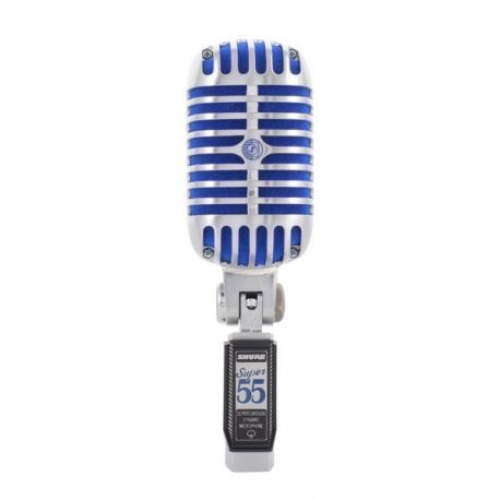 SHURE SUPER 55 MICROFONO VOCAL DINAMICO SUPERCARDIOIDE