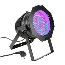 CLP64RGBA10BS CAMEO PARCAN LED 177 X 10 MM DMX 30W AMBAR LED