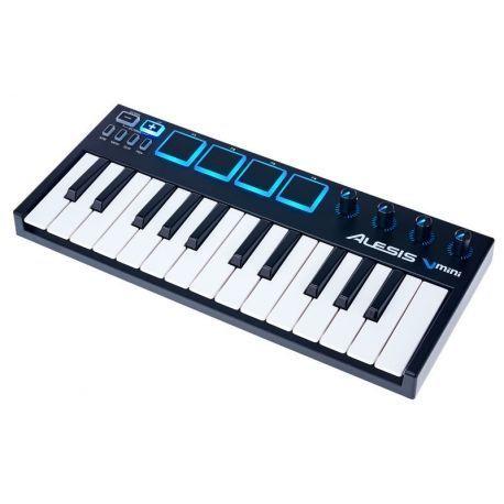 TECLADO Alesis V mini CONTROLADOR USB MIDI 25 NOTAS Y 4 PADS