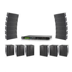 SISTEMA AUTOAMPLIFICADO LINE ARRAY DAS EVENT 212
